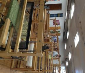 Looms at the Praxis Fiber Workshop